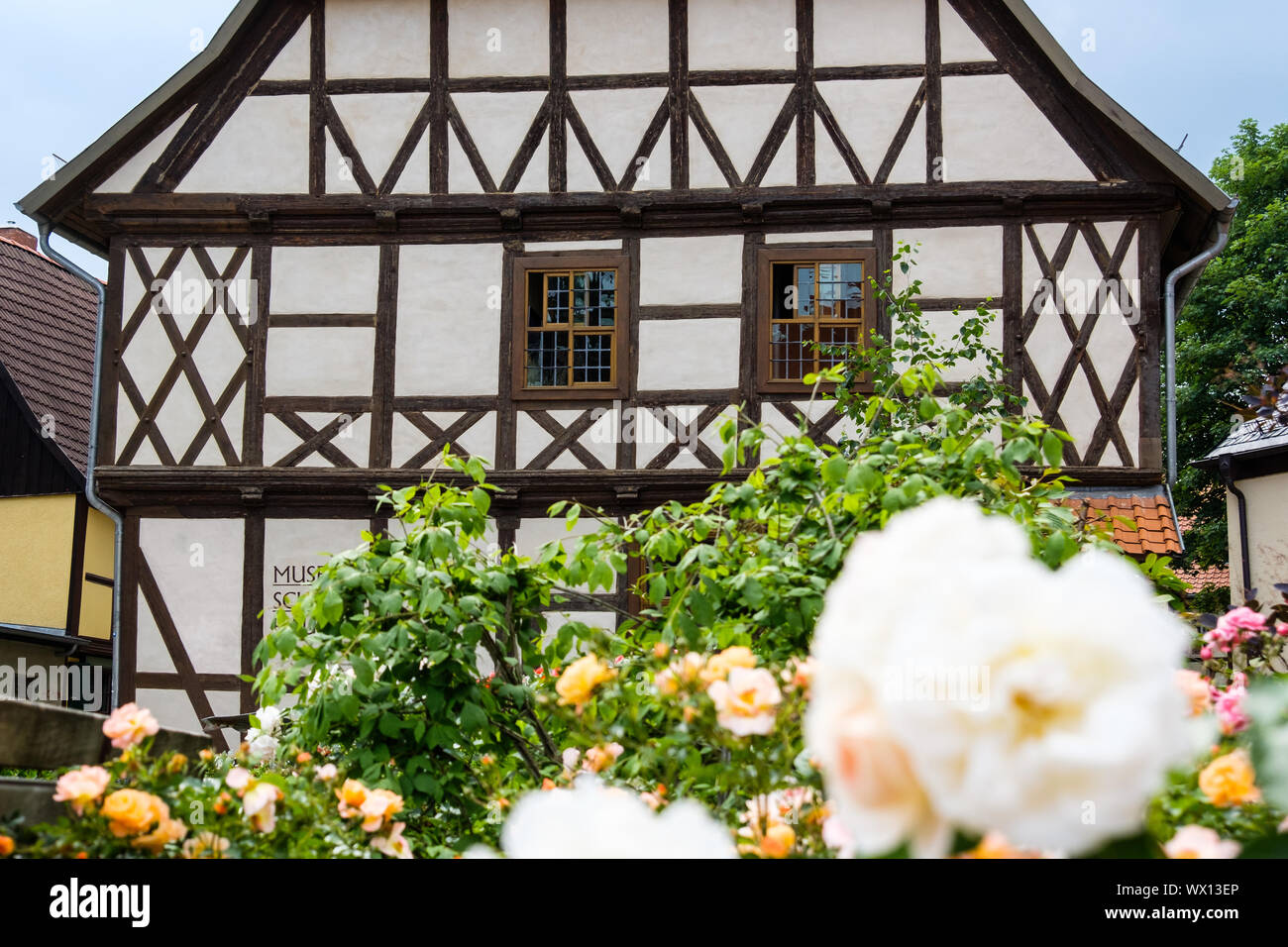 Old town of Wernigerode Harz Stock Photo