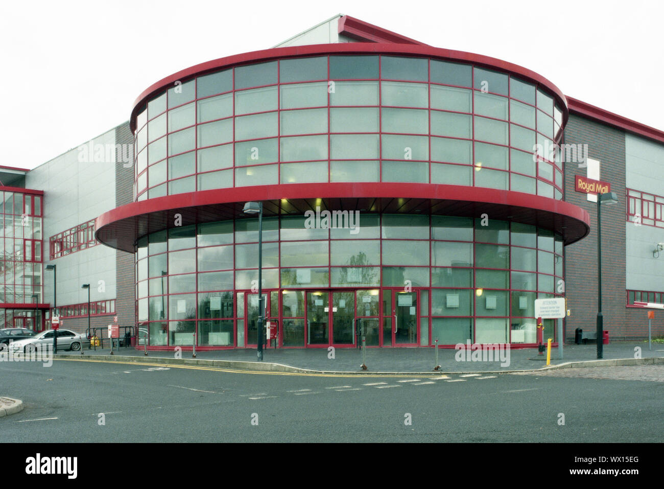 Royal Mail North West Midlands Mailcentre Reception In Sun Street Wolverhampton Stock Photo Alamy