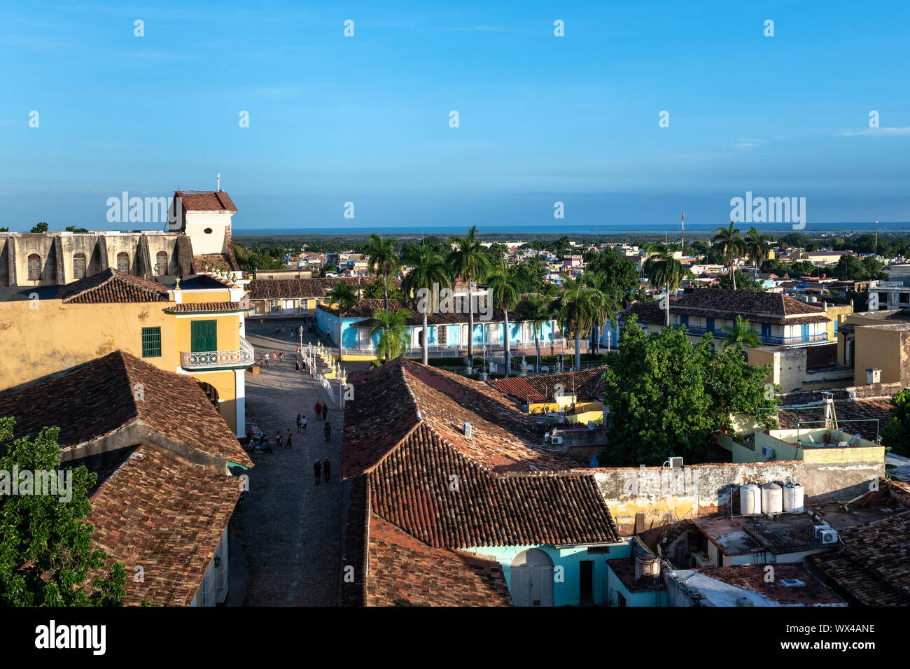 Trinidad, Cuba - colonial town cityscape. UNESCO World Heritage Site. Stock Photo