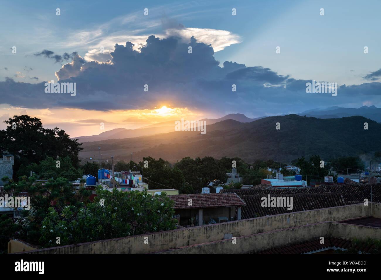 Trinidad, Cuba - colonial town cityscape. UNESCO World Heritage Site. Stock Photo