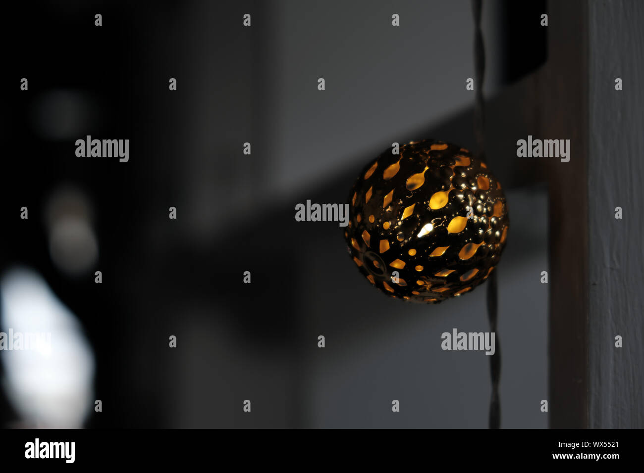 Decorative Lights for Home Stock Photo