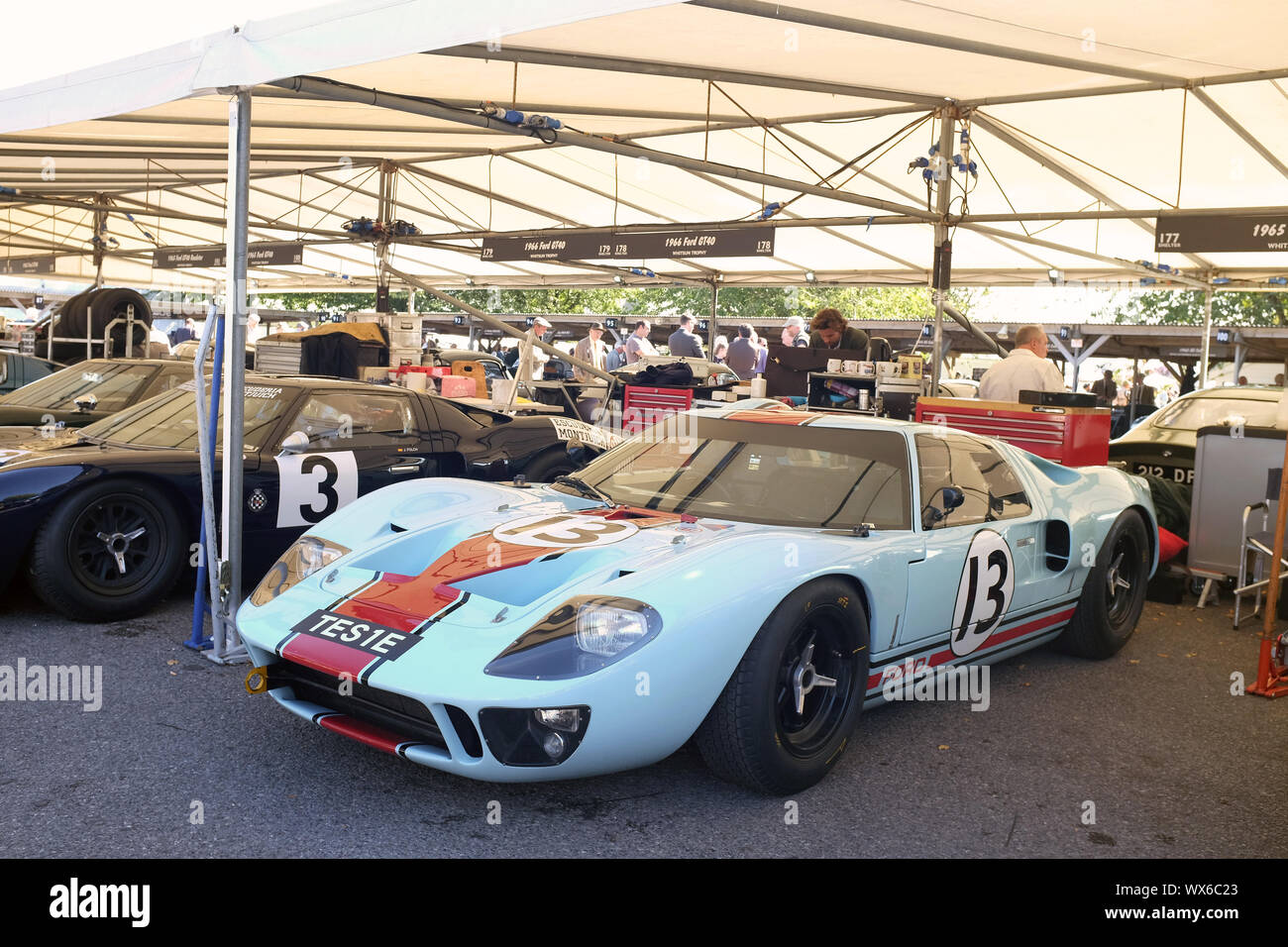 13 September 2019 Ford Gt40 At Goodwood Revival Stock Photo Alamy