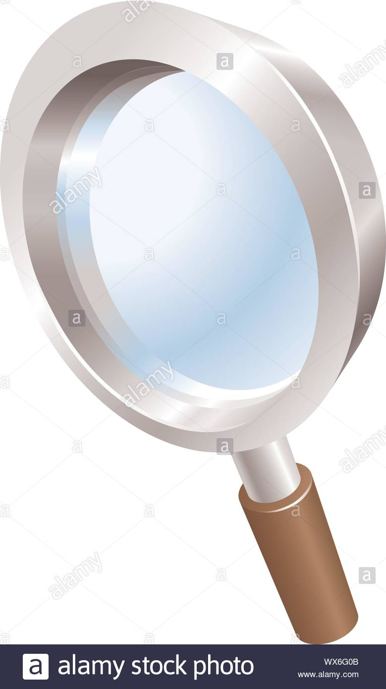 Magnifying Glass Search Icon Clipart Stock Vector Image Art Alamy