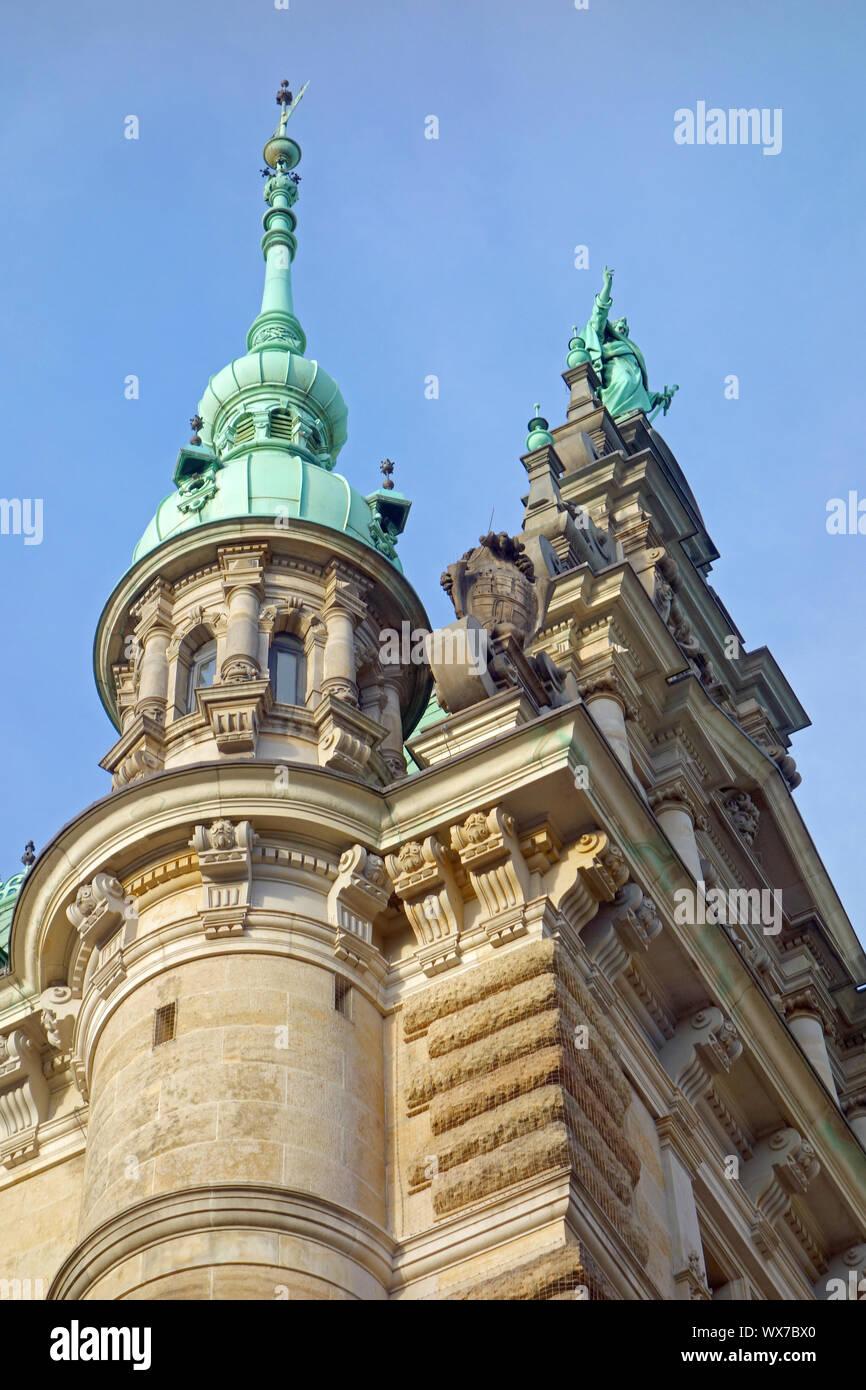 City Hall Hamburg in Germany Stock Photo
