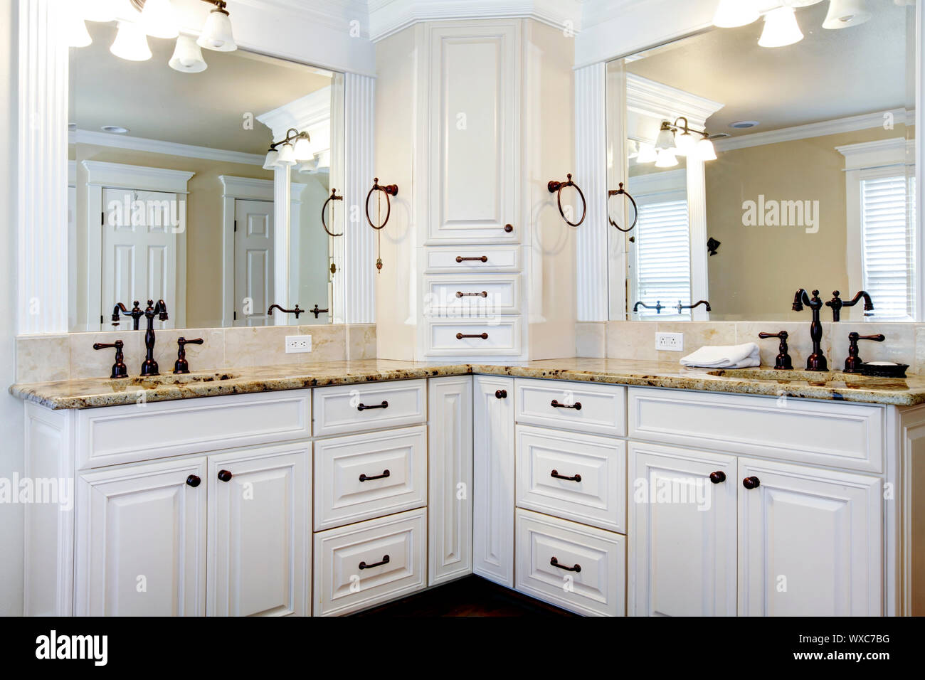 Large Corner Window Shower High Resolution Stock Photography And Images Alamy
