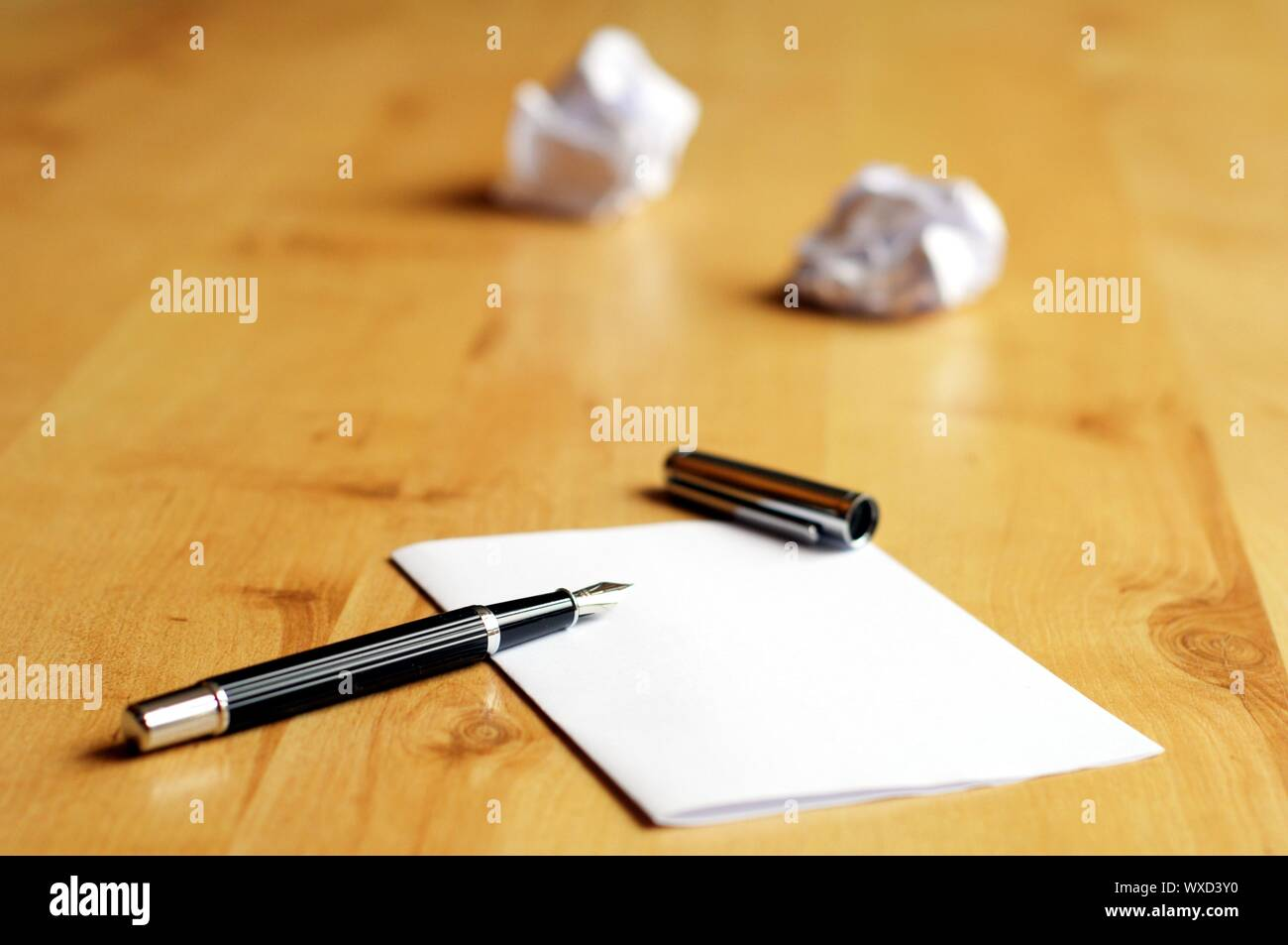 creative work in business office with selective focus Stock Photo