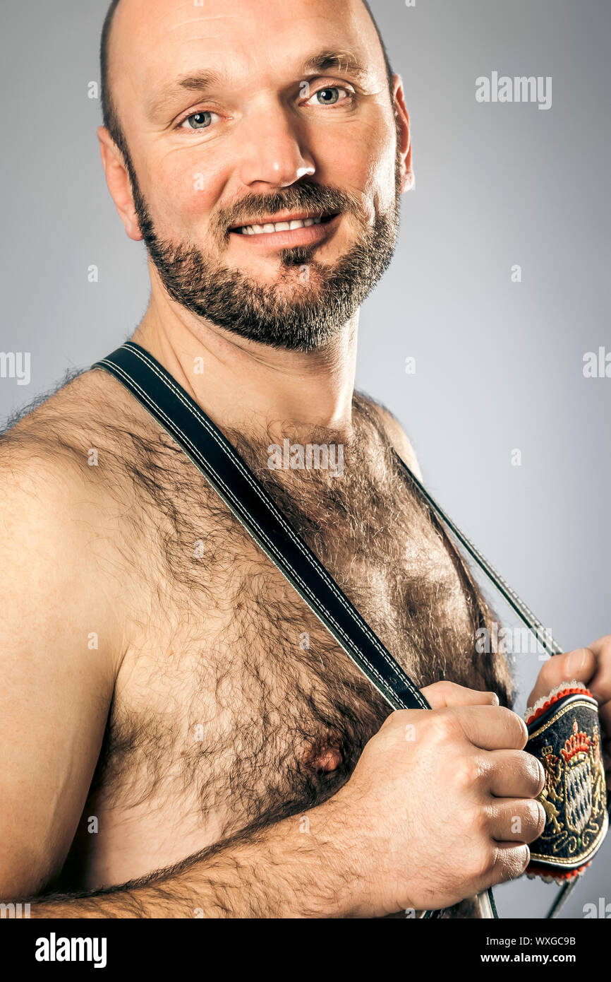 The Hairy Man High Resolution Stock Photography And Images Alamy