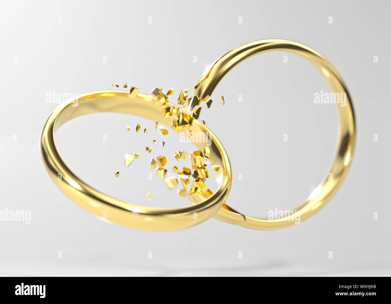 Broken Ring Stock Photos Broken Ring Stock Images Alamy