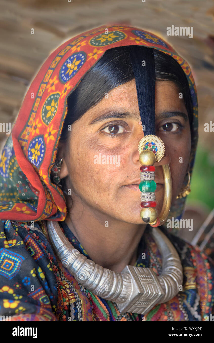 Gold Nose Ring Stock Photos Gold Nose Ring Stock Images Alamy