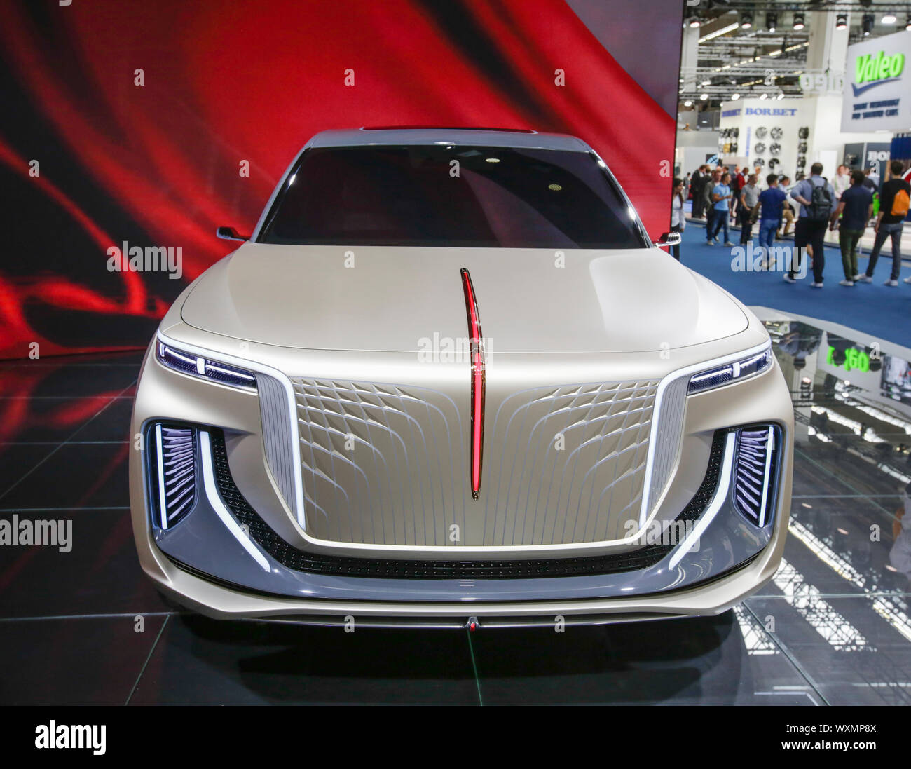 The Car Group >> Frankfurt Germany 12th Sep 2019 The Car Brand Hongqi