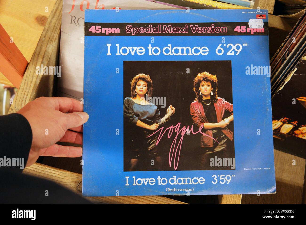 album: Voggue - I love to dance Stock Photo