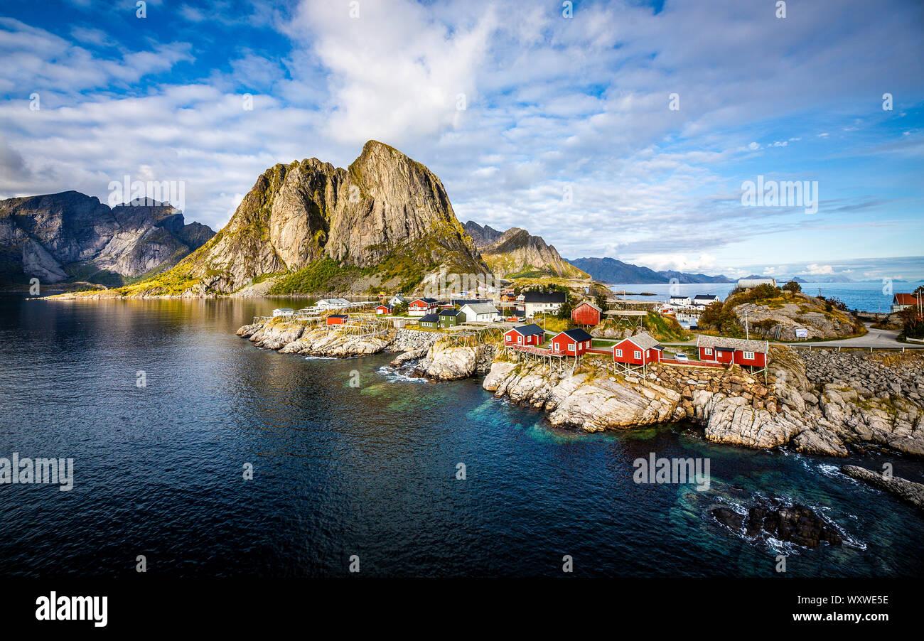 Hamnøy, Lofoten Islands, Norway by Anne-Marie Forker Stock Photo