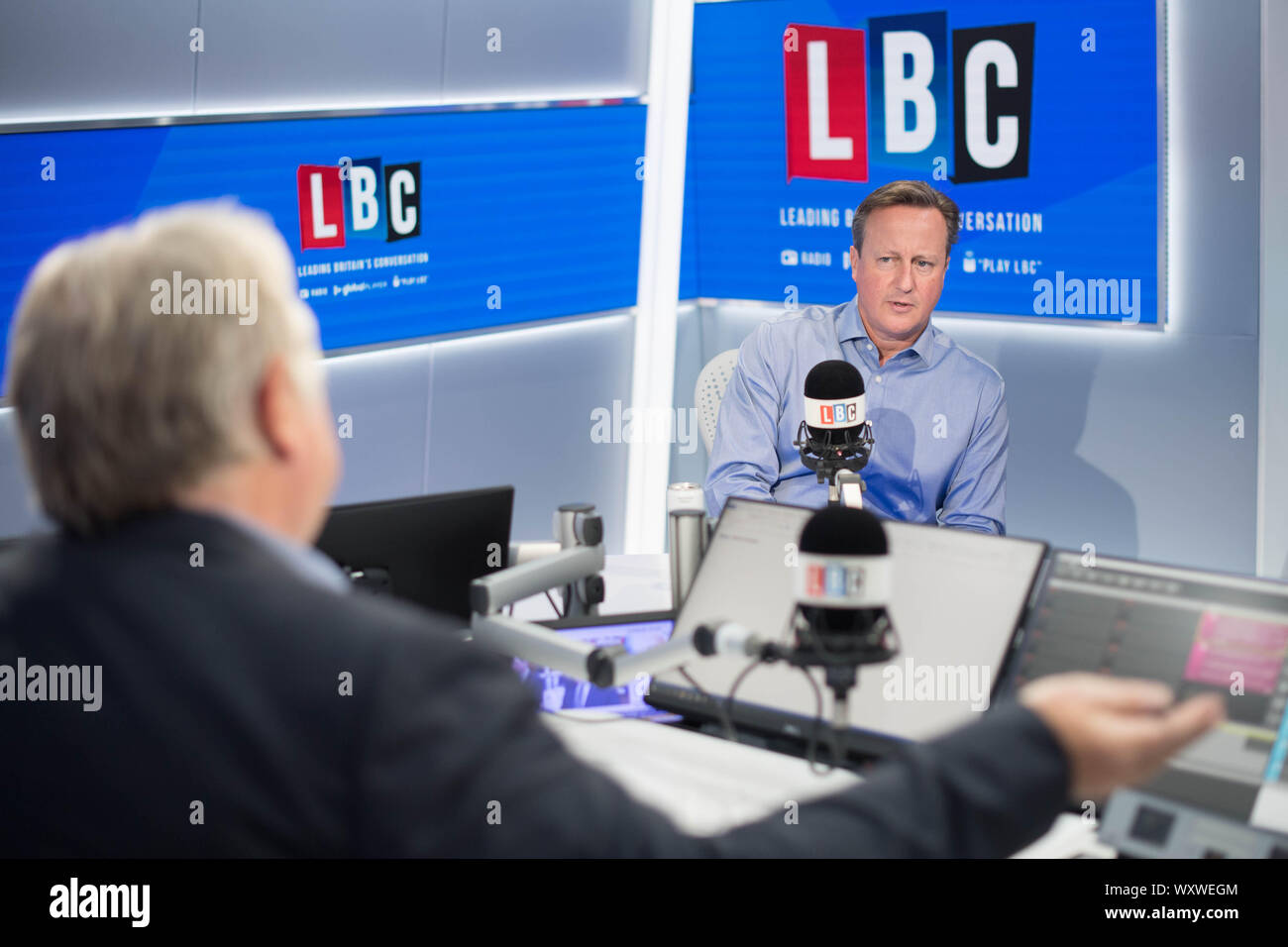 Lbc Radio Presenter Stock Photos & Lbc Radio Presenter Stock
