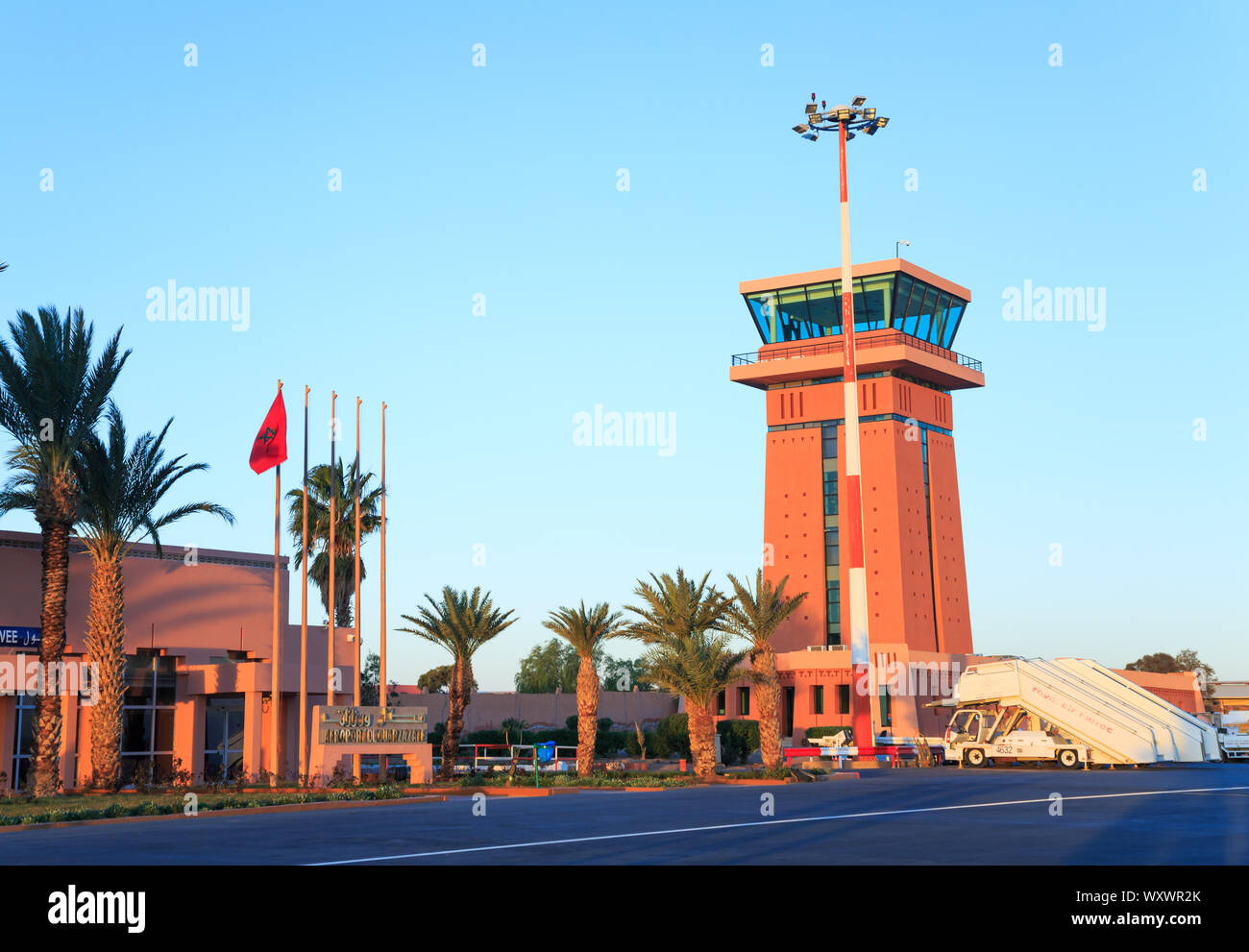 ouarzazate morocco feb 28 2016 ouarzazate airport ouarzazate nicknamed the door of the desert is a city and capital of ouarzazate province in d WXWR2K