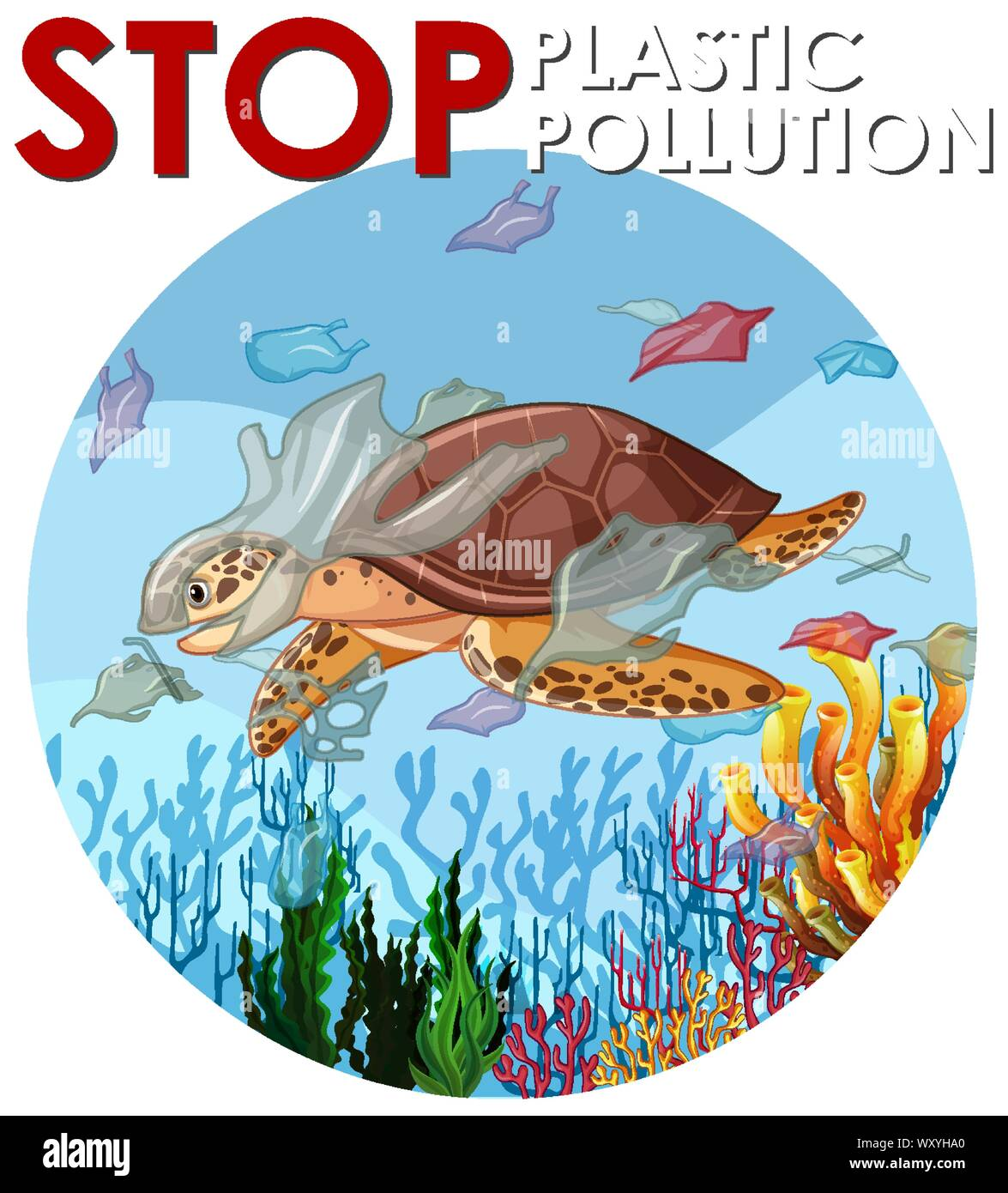 Image result for cut out the plastic pollution