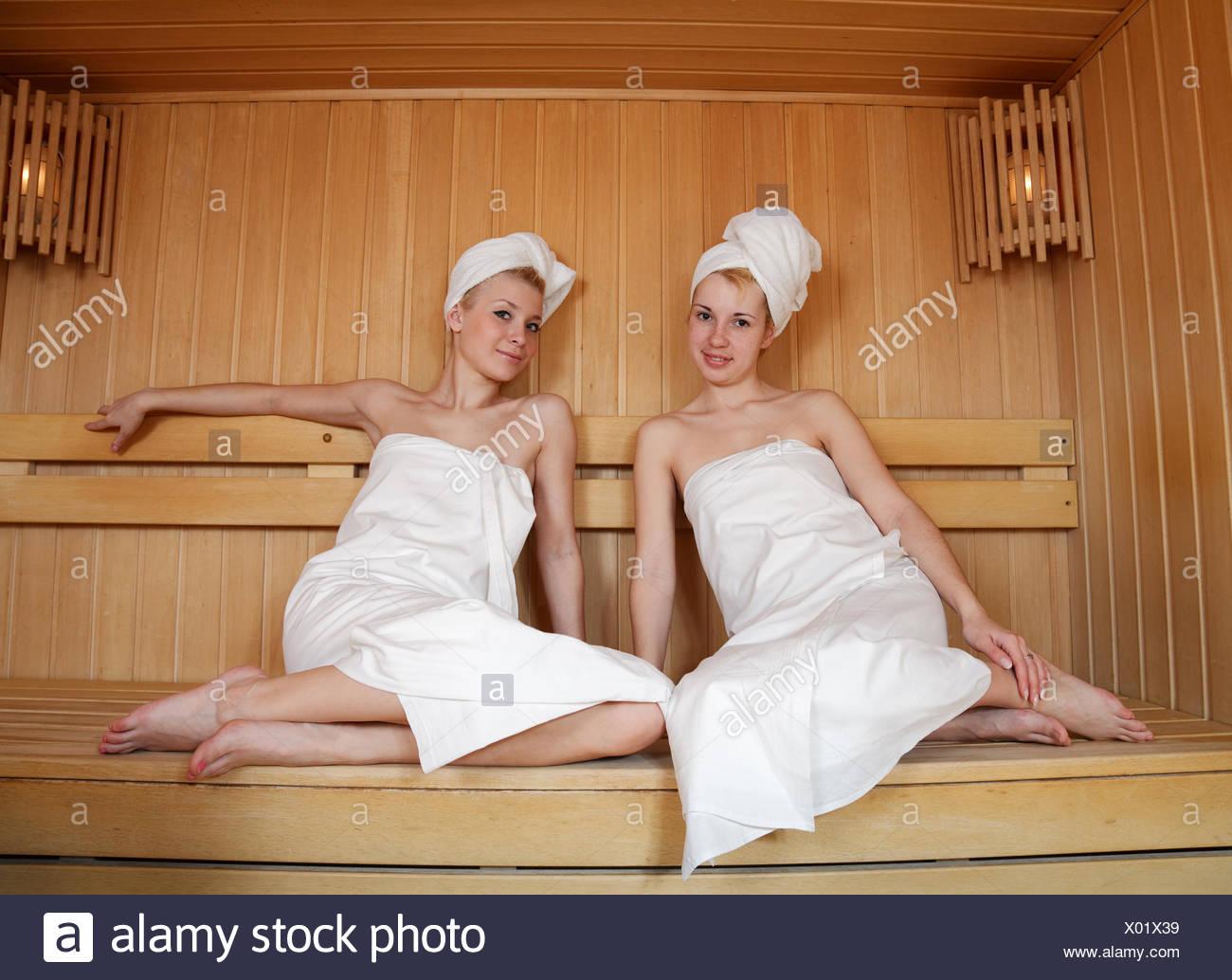 Sauna - Stock Image