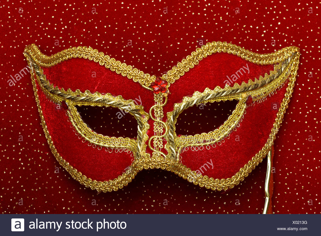 theatrical mask - Stock Image