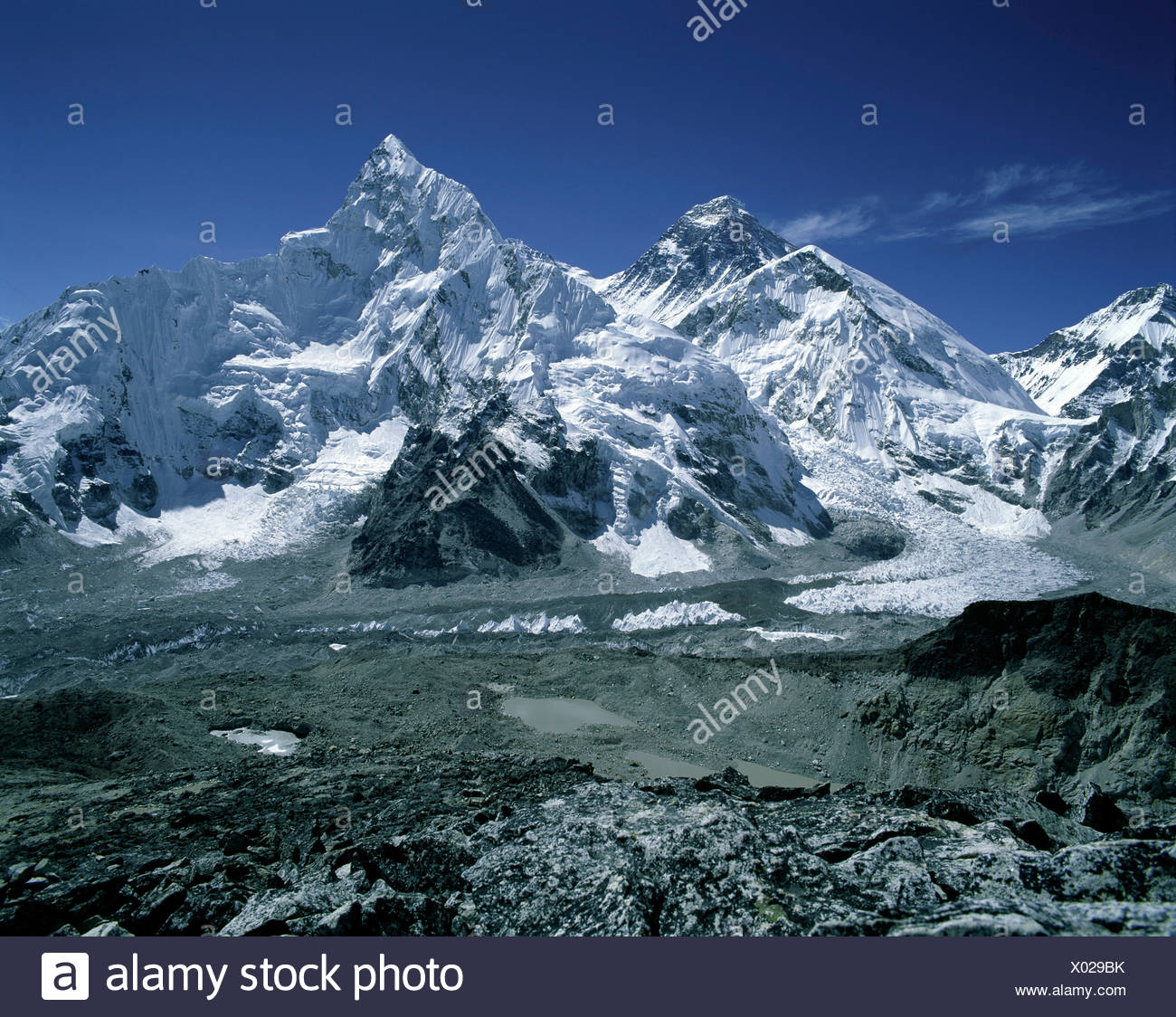 Mount Everest - Stock Image