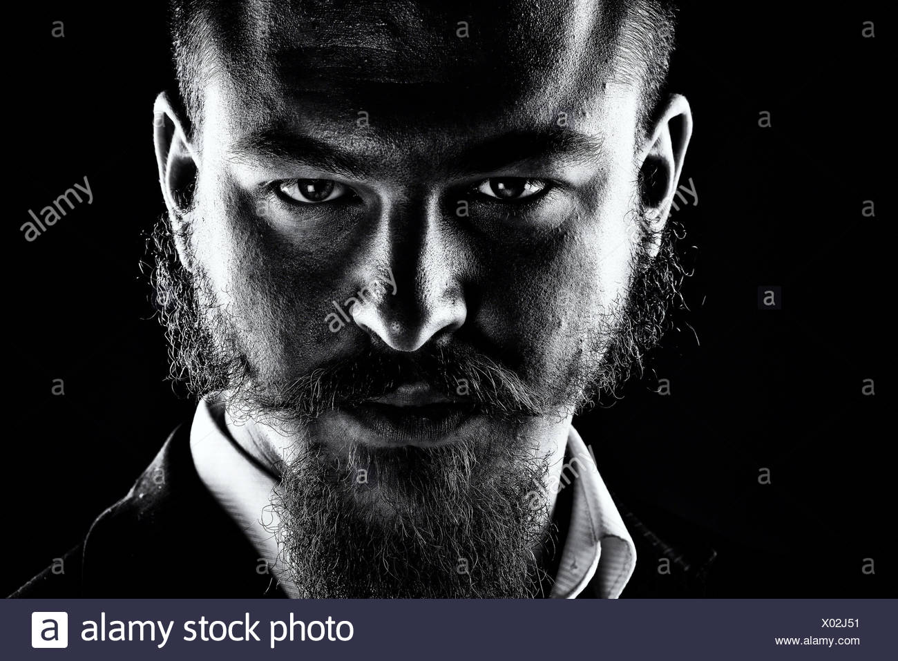 look into my eyes - Stock Image