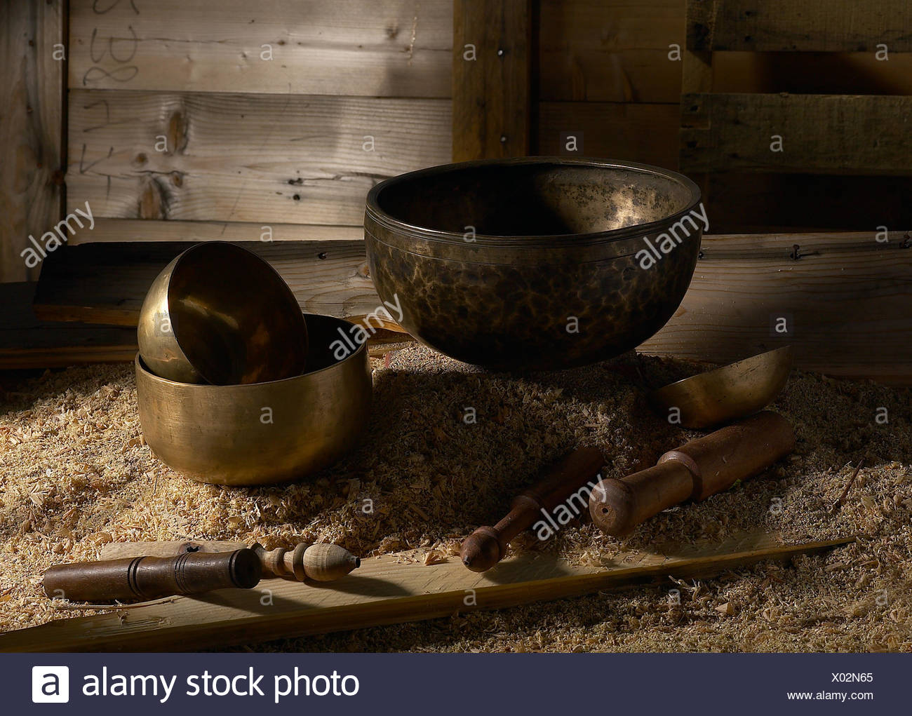 Close-Up Of Kitchen Utensils - Stock Image