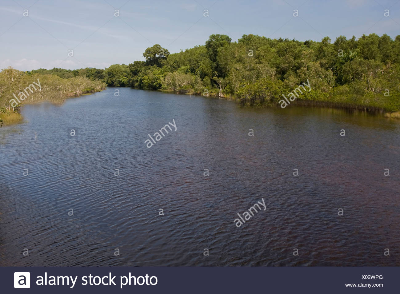 Asia, Dong, outside, Duong, river, island, isle, Phu, Quoc Quok, South-East Asia, Vietnam, Vietnamese, water, Cua Can, Stock Photo
