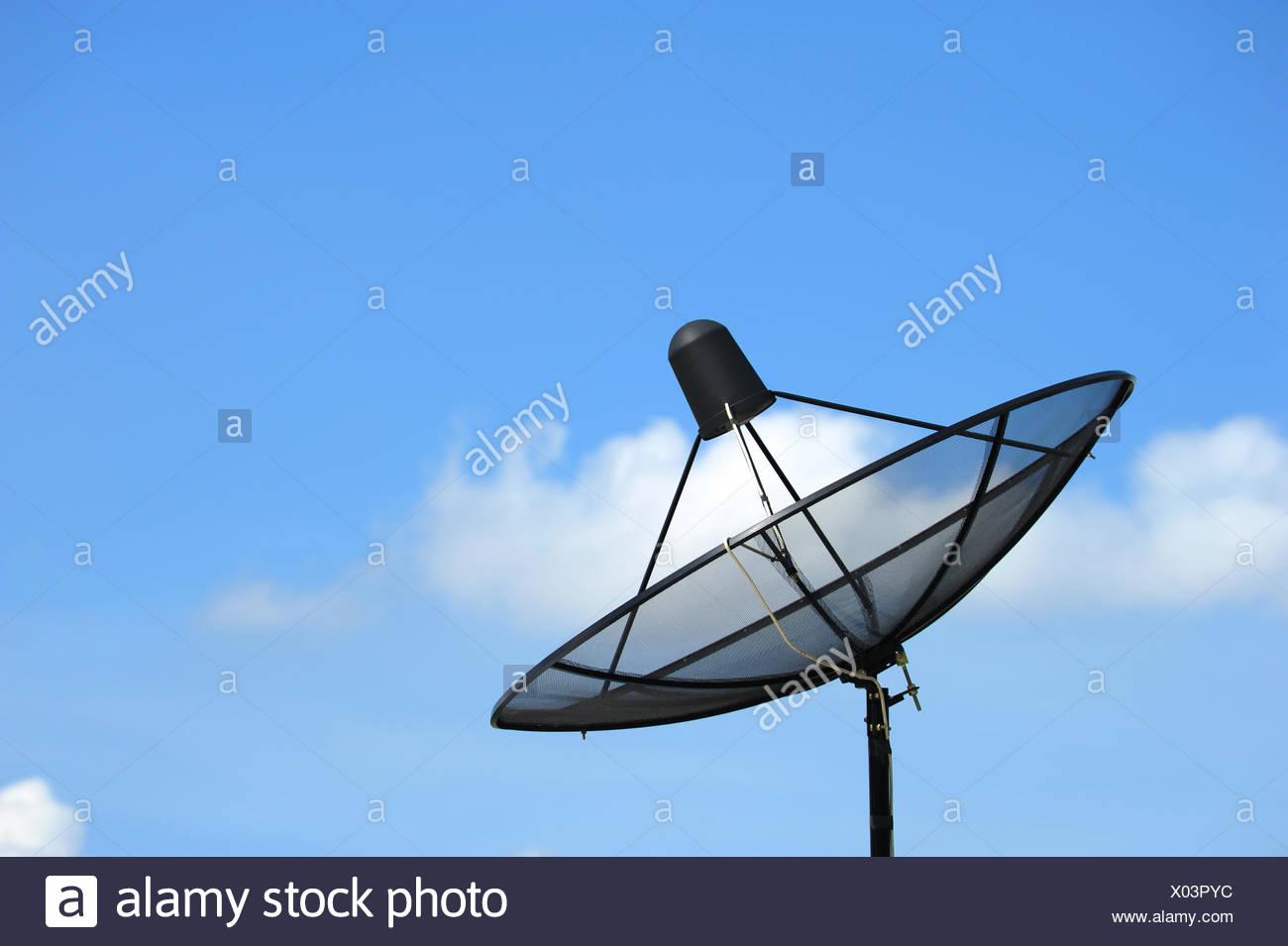 Satellite dish - Stock Image