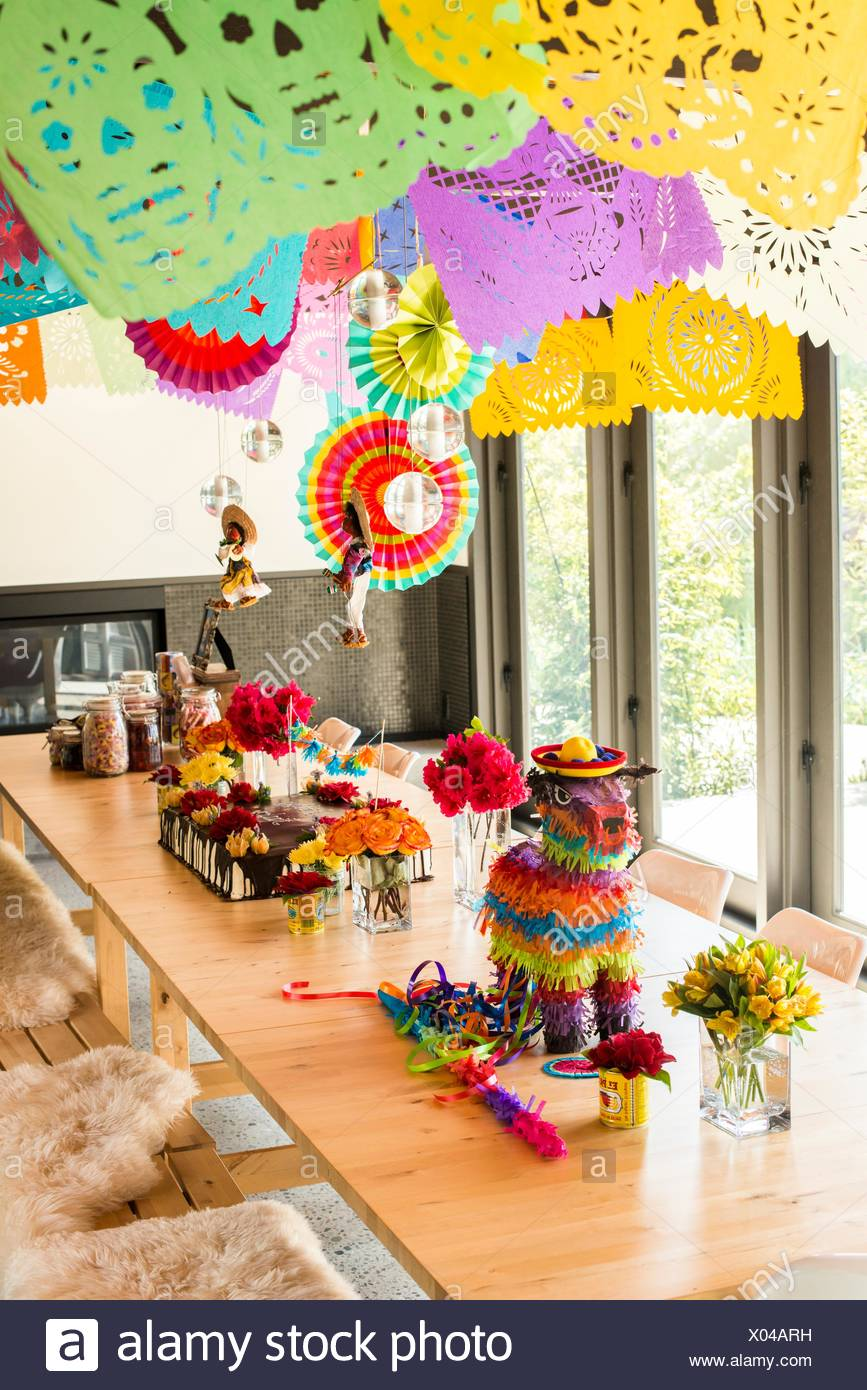 Mexican Party Decorations Stock Photos Mexican Party Decorations