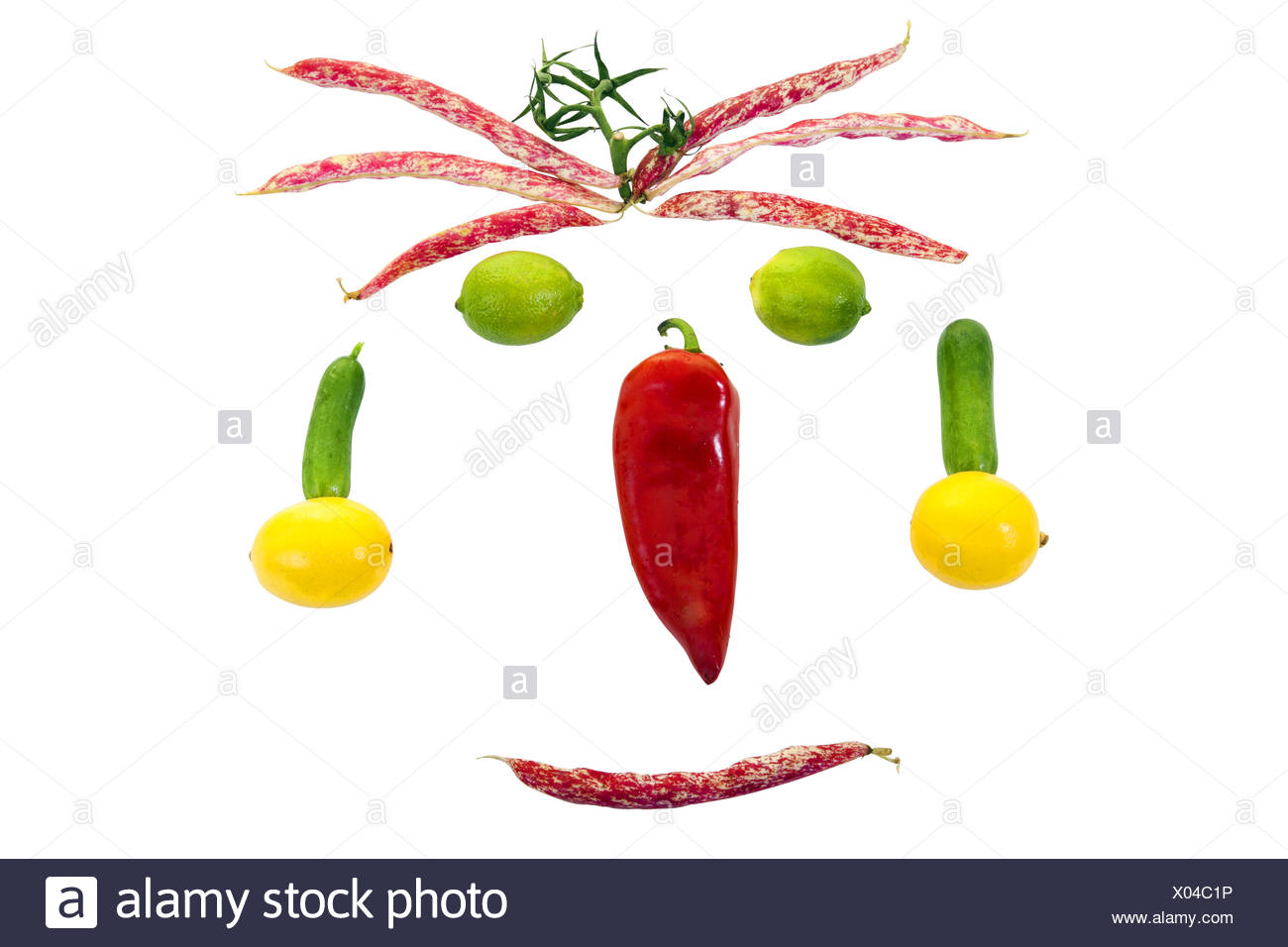 I'm Eating And Happy - Stock Image