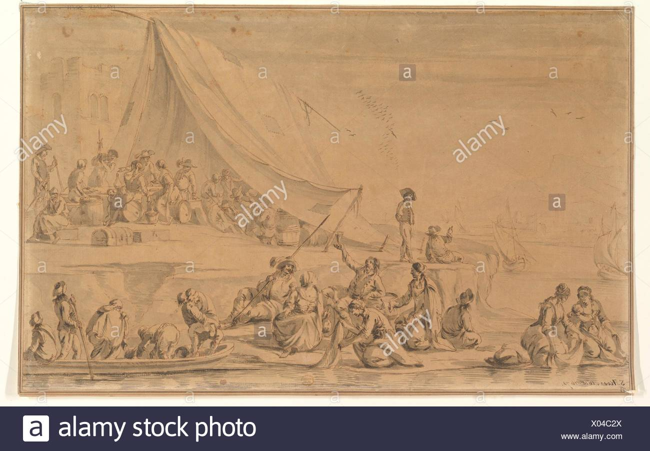 A Pirate's Camp  Artist: Anonymous, Italian, 17th century