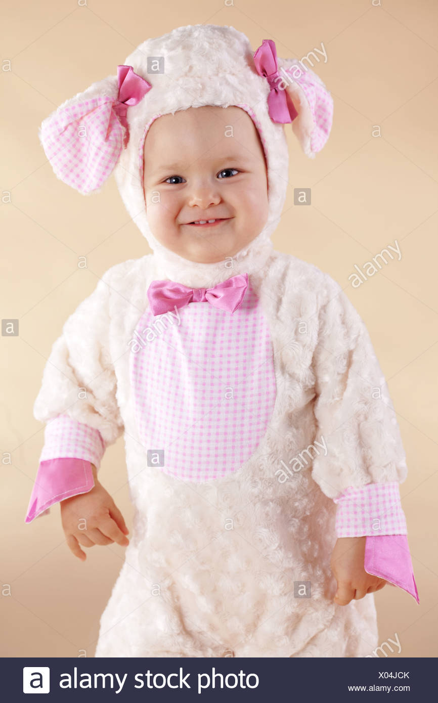 Very cute baby wearing sheep costume - Stock Image  sc 1 st  Alamy & Sheep Costume Funny Stock Photos u0026 Sheep Costume Funny Stock Images ...
