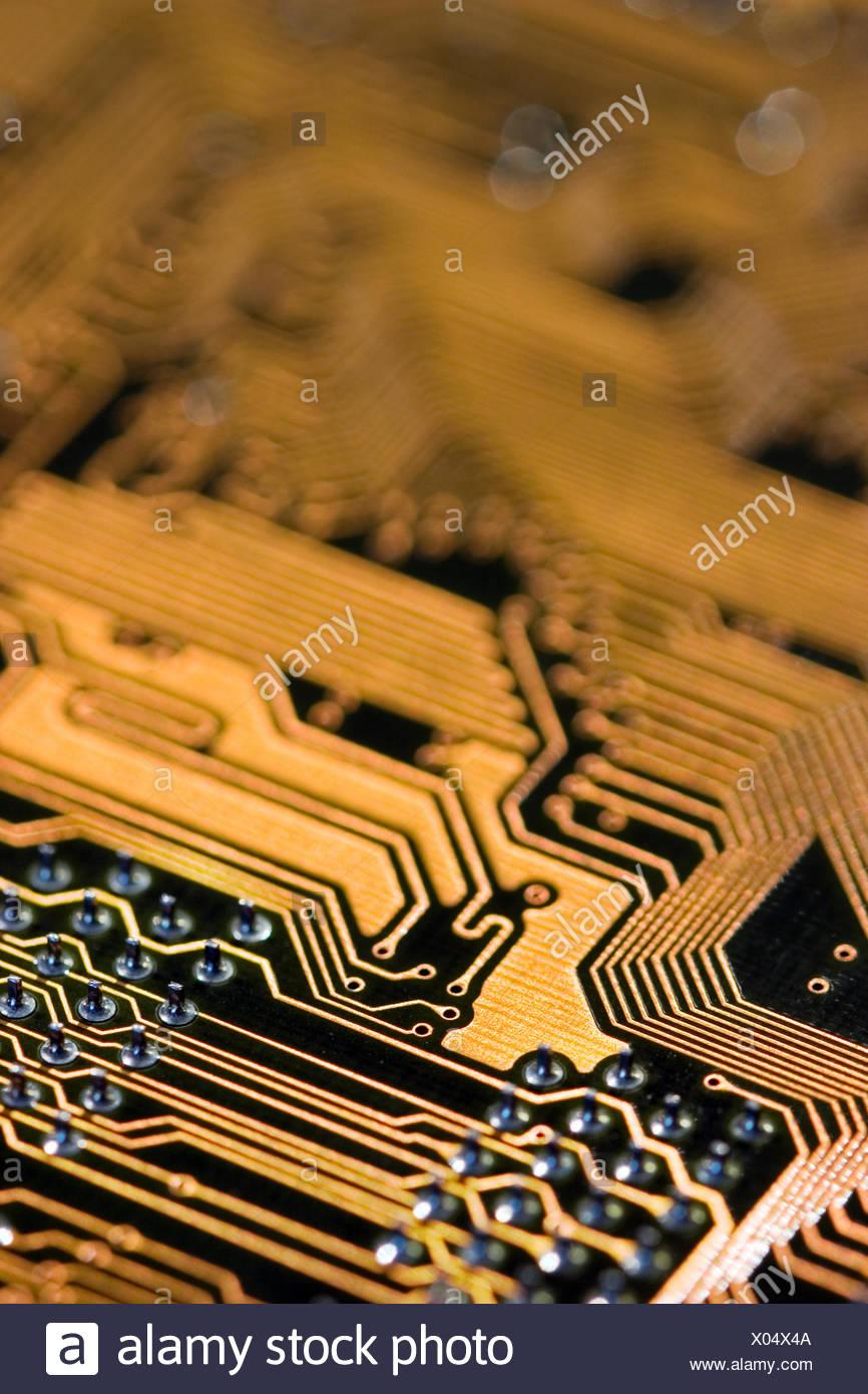 circuit board,trace Stock Photo: 275474202 - Alamy