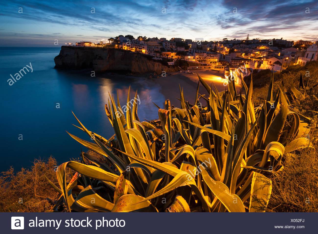 Carvoeiro,Portugal,Algarve Stock Photo