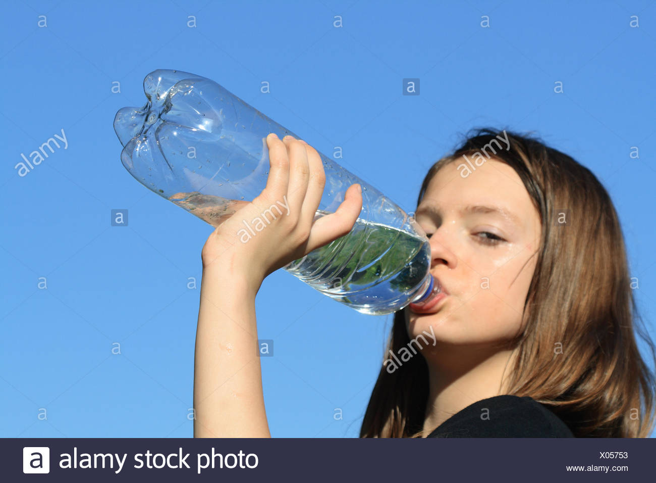 Thirst - Stock Image