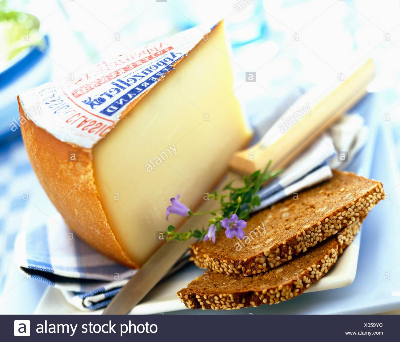 Appenzeller Cheese Stock Photo 275483472 Alamy