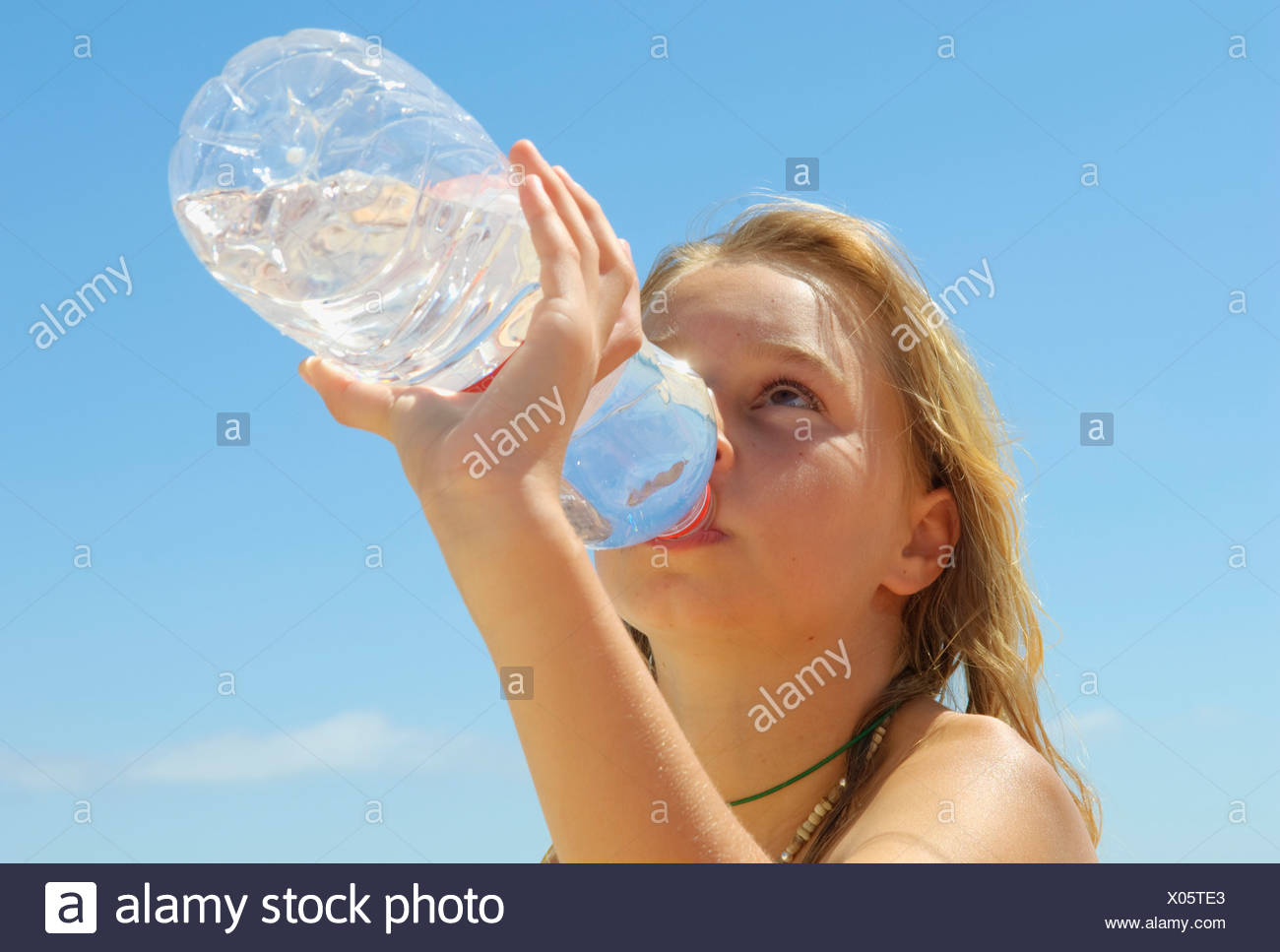 Drinking Water - Stock Image