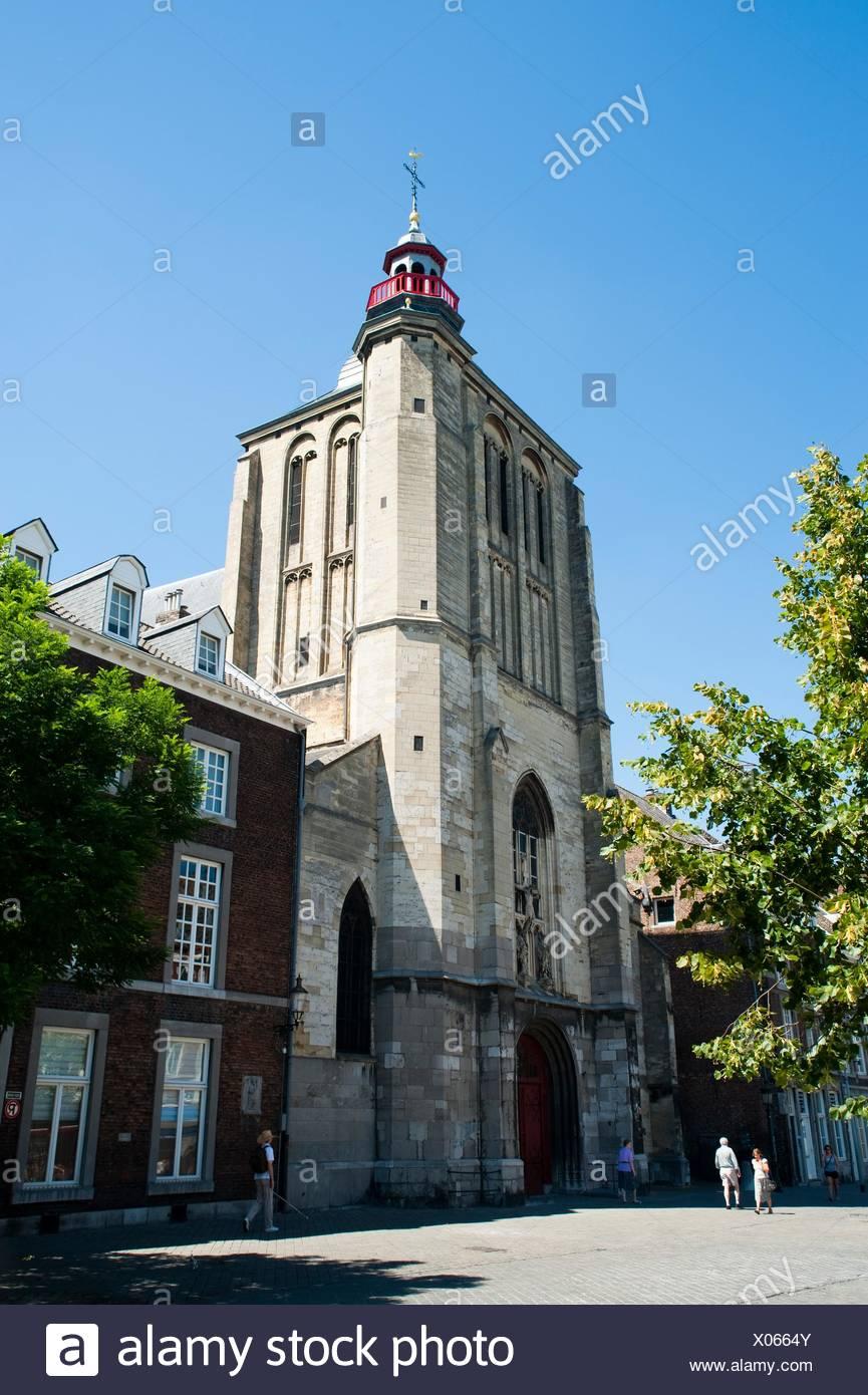 Sint Matthias Kerk Saint Matthew´s church, Maastricht, Limburg, The Netherlands, Europe Stock Photo