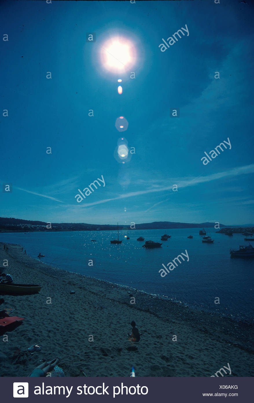Sunlight Halo Colwyn Bay - Stock Image