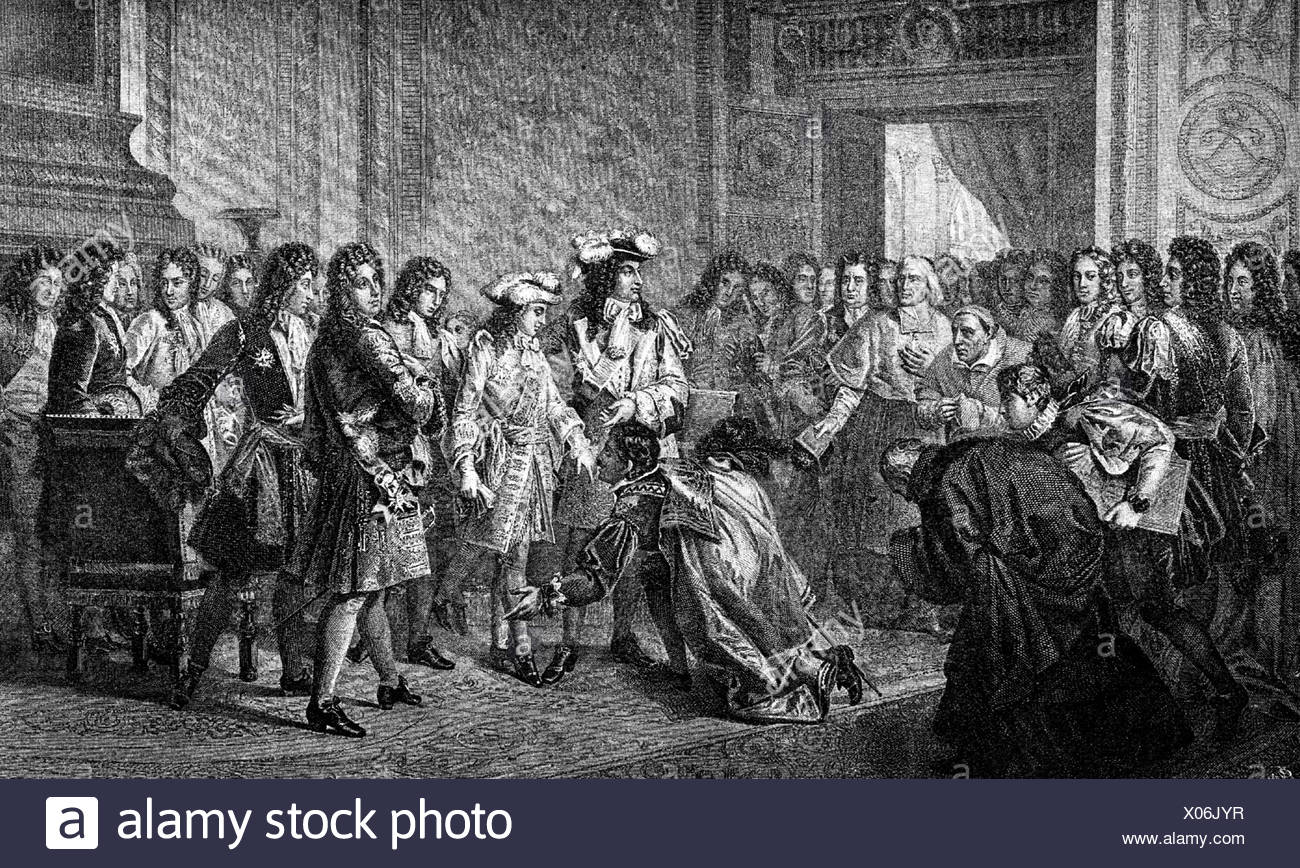 Philip V. 19.12.1683 - 9.7.1746, King of Spain 24.11.1700 -  , Artist's Copyright has not to be cleared - Stock Image