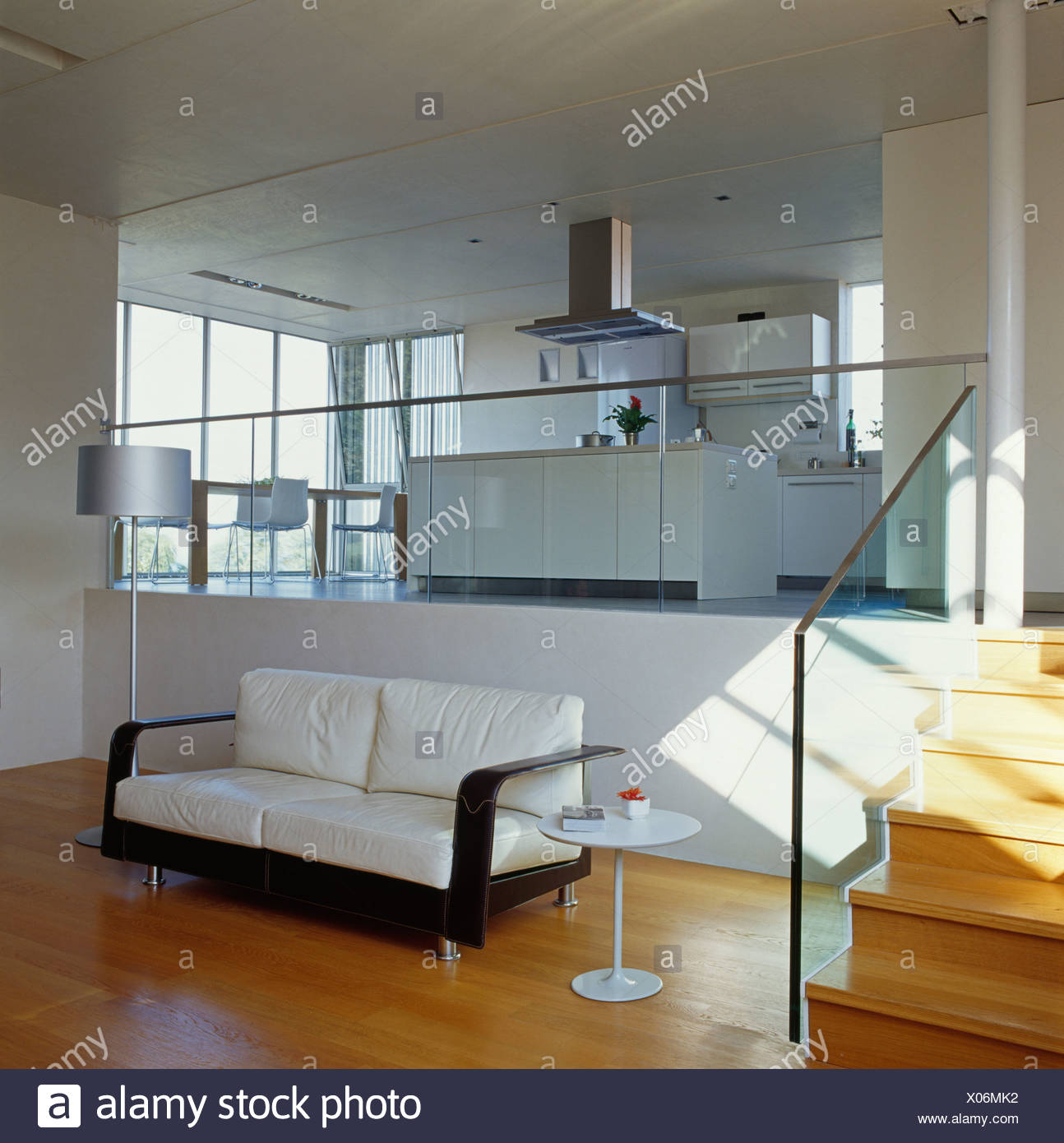 Open Plan Kitchen Sitting Area Stock Photos & Open Plan Kitchen ...