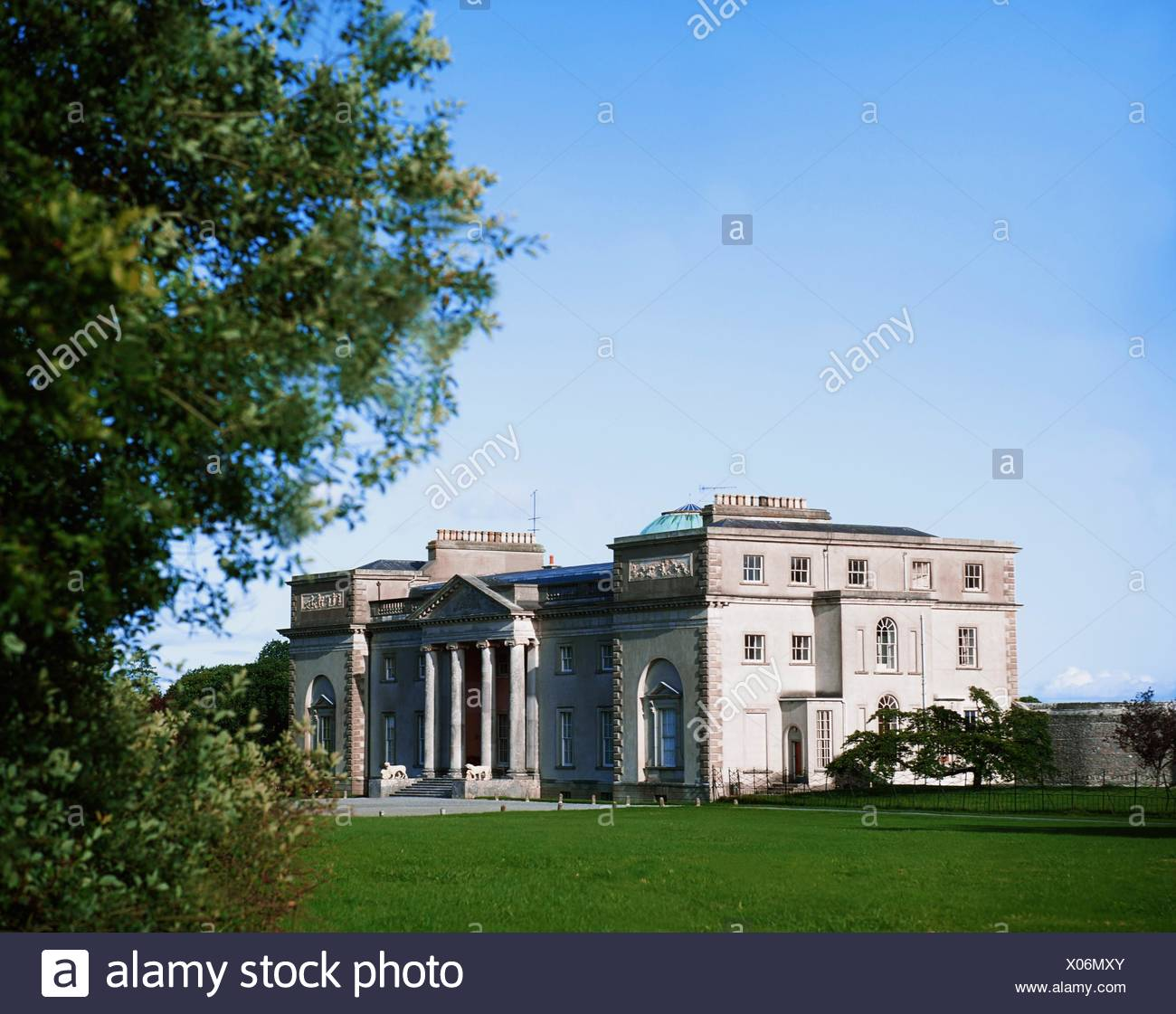 Emo Court, Co Laois, Ireland; Neo-Classical Mansion Designed By James Gandon In 1790 - Stock Image