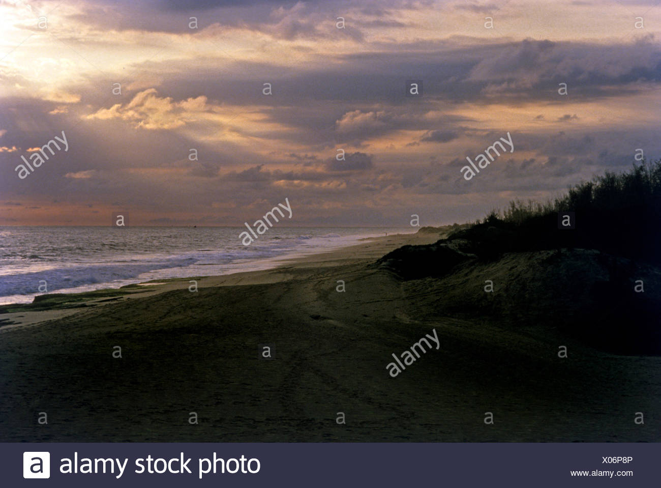 Tip of Indian subcontinent - Stock Image