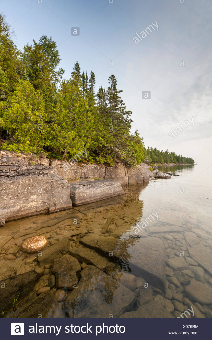 Misery Bay Provincial Park, Manitoulin Island, Ontario, Canada - Stock Image