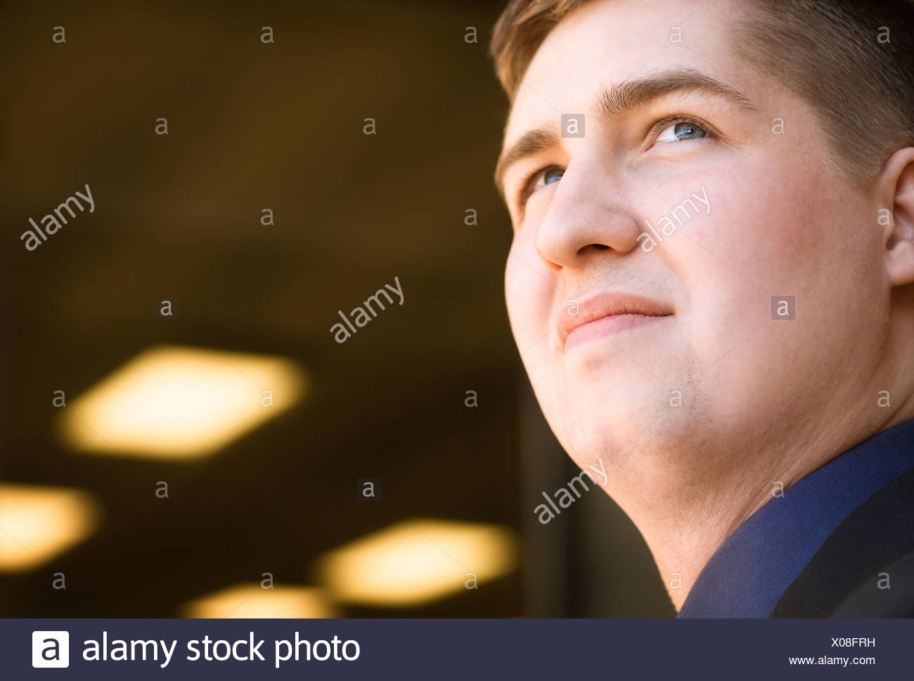 Portrait of a man - Stock Image