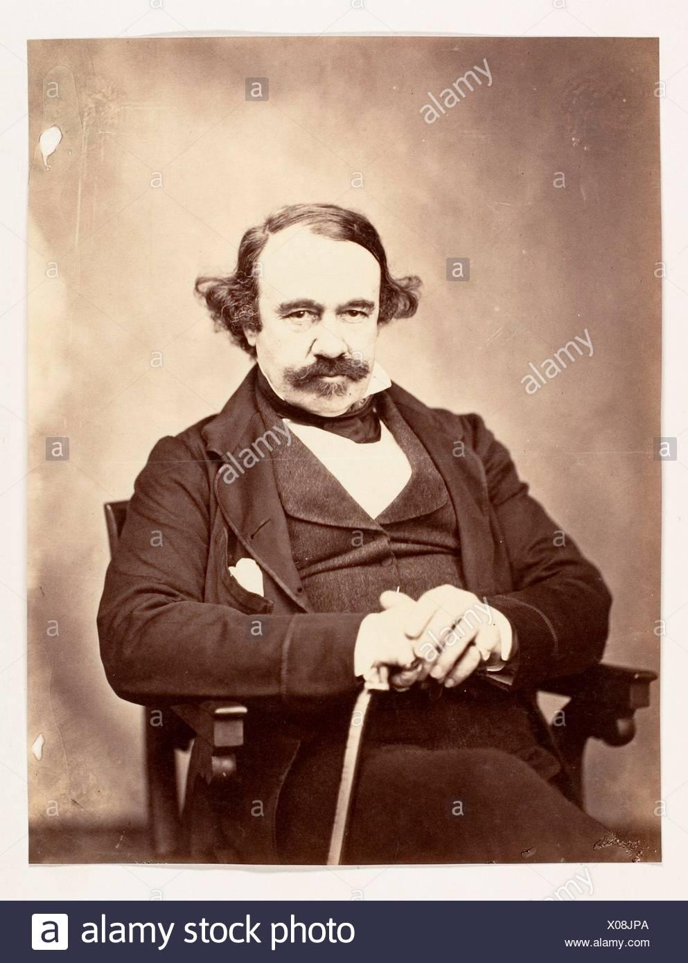 [Sir James Outram Bart., G.C.B.]. Artist: Unknown; Date: 1858-61; Medium: Albumen silver print; Dimensions: Image: 19.3 x 14.9 cm (7 5/8 x 5 7/8 - Stock Image