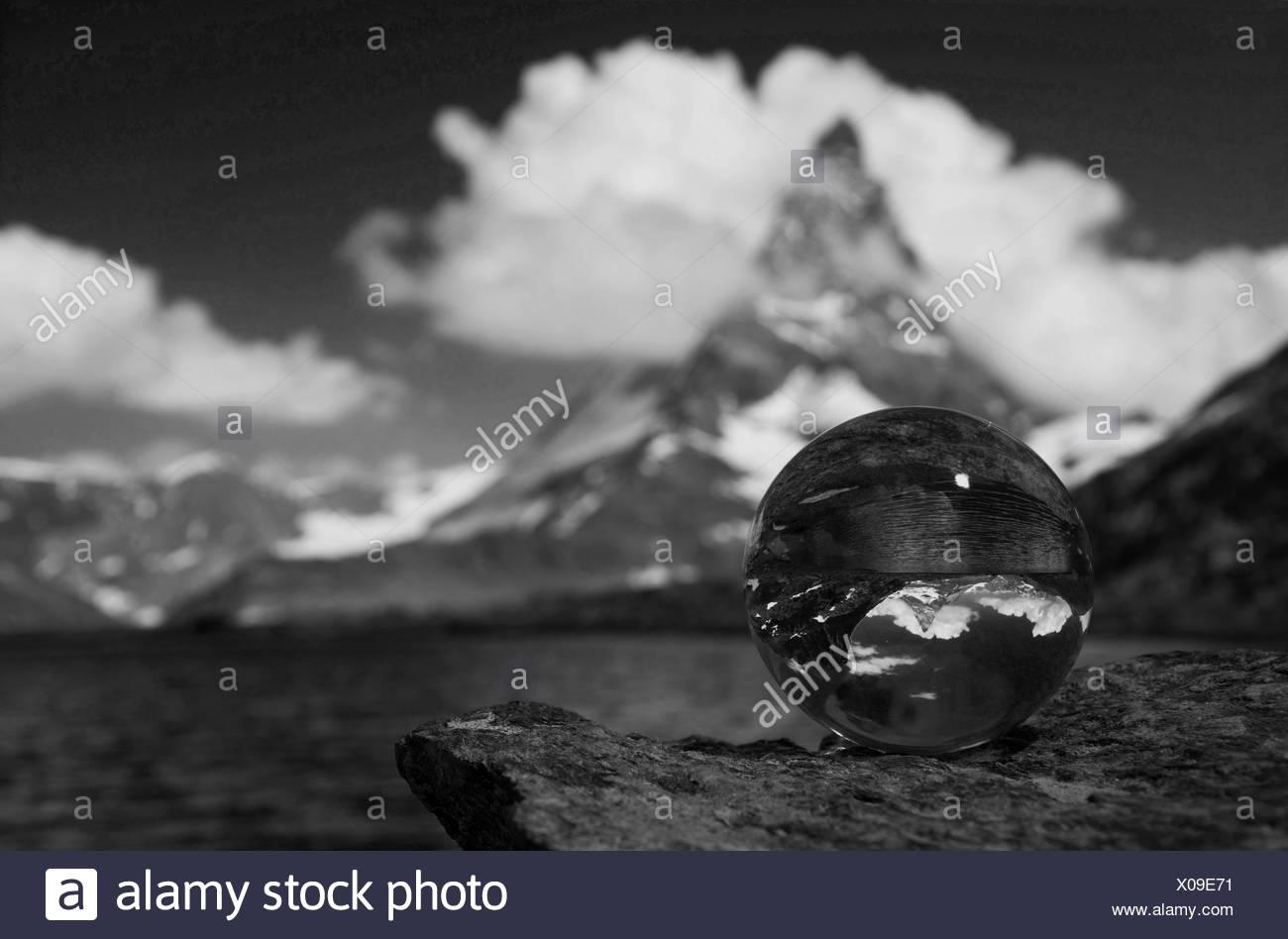 matterhorn,valais,switzerland - Stock Image