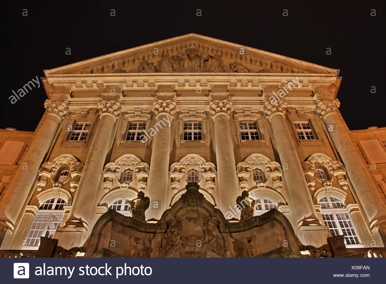 cologne law justice attorney accusation paragraph lawyer court-house courthouse - Stock Image