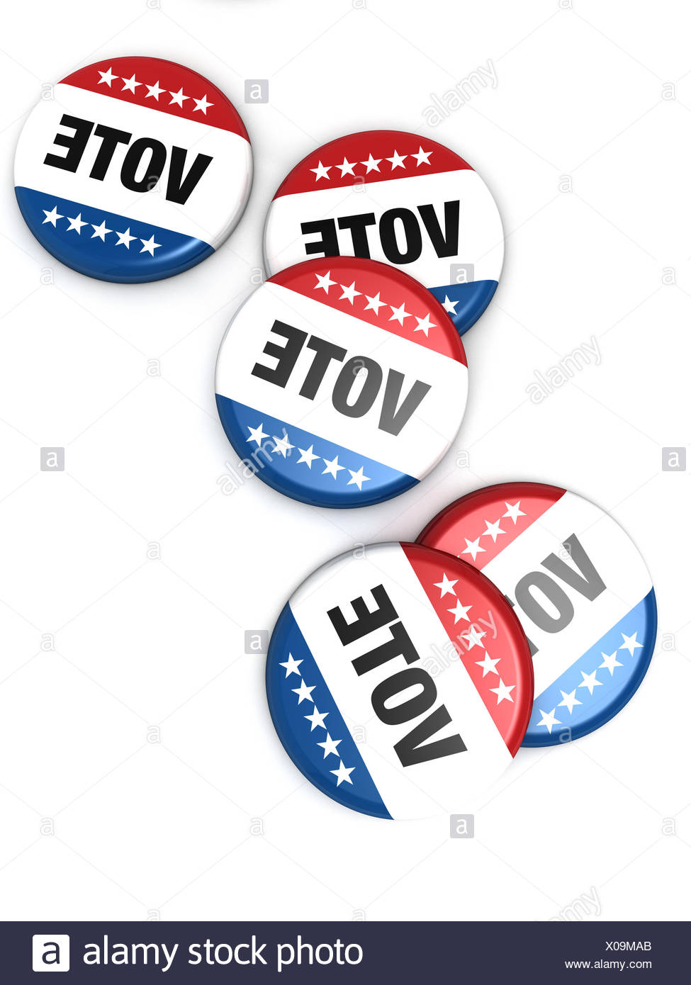 political, usa, choose, elections, politic, apart, extra, insulated, political, - Stock Image