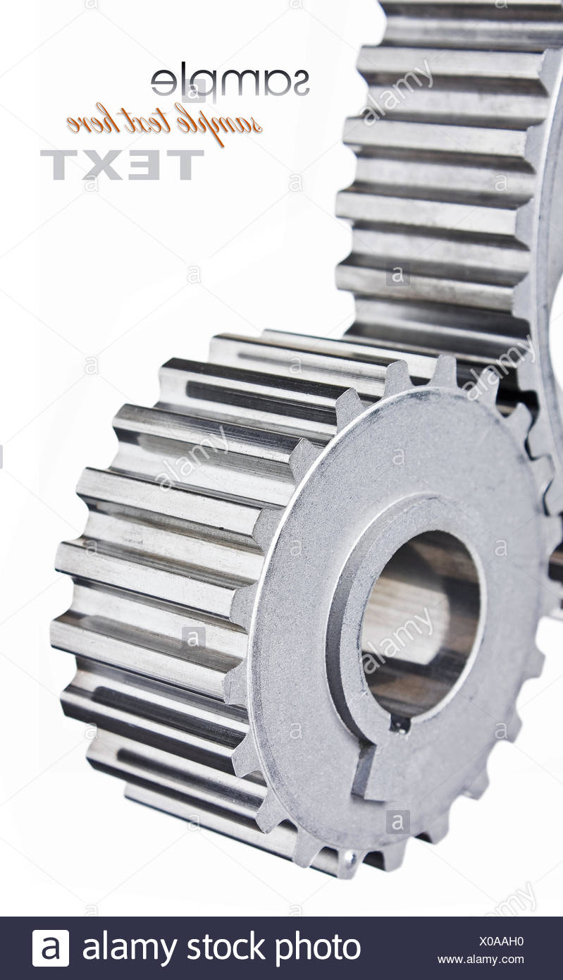 gears of mechanisms - Stock Image