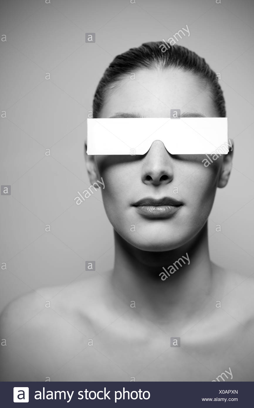 I do not see - Stock Image