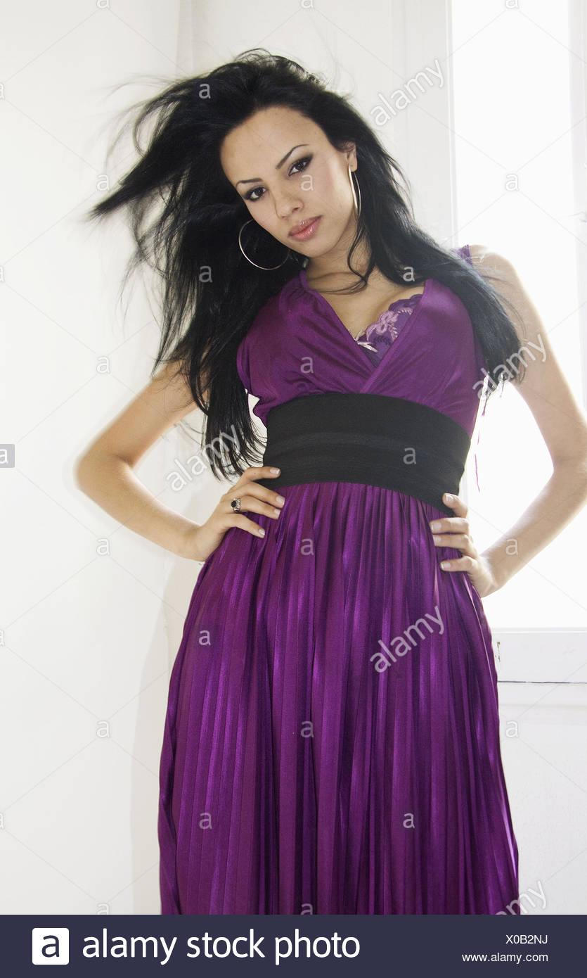 Tranny in purple